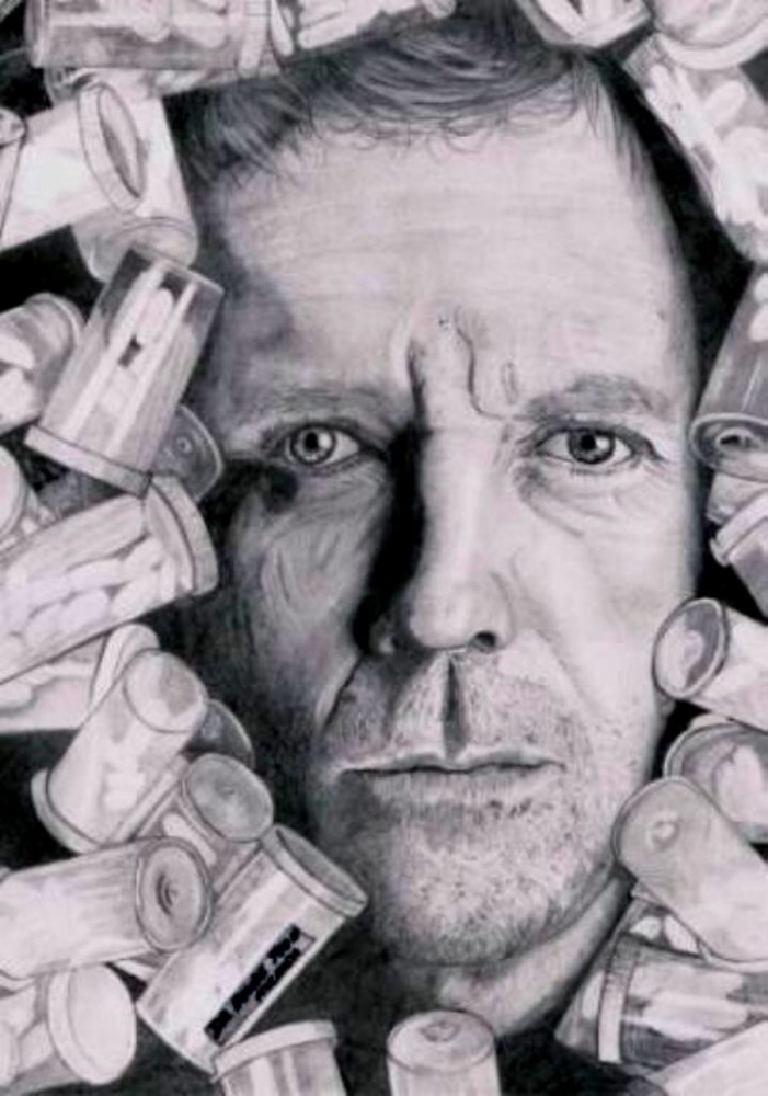 Hugh Laurie por MirArt